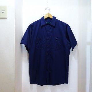 新品 REDKAP ショートスリーブ ワークシャツ size M 紺