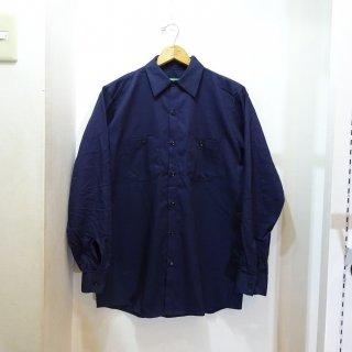 新品 REDKAP ロングスリーブ ワークシャツ size M 紺