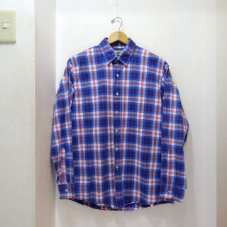 80's L.L.Bean コットン チェックシャツ size L