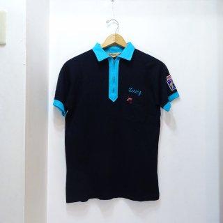 70's Hilton Bowling Polo Shirts size M