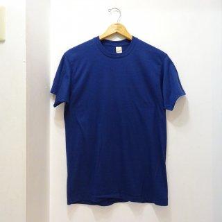 Dead Stock 80's Screen Stars ソリッドTシャツ ネイビー色 size L
