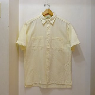 80's L.L.Bean Cool Weave Cotton Shirts size M