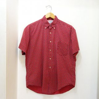 60's B.V.D Cotton B.D Shirts 3点留め size M