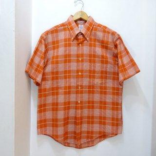 70's DONEGAL Cotton B.D Shirts size L