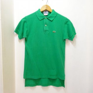 USA製 〜90's LACOSTE 鹿の子 ポロシャツ size M