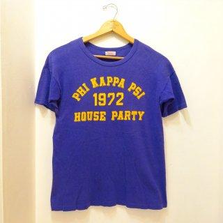 """60's/70's Durack """"PHI KAPPA PSI"""" Fraternity T-Shirts size L"""