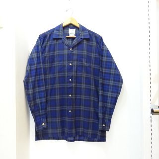 60's Towncraft Cotton Open Collar Shirts size ML
