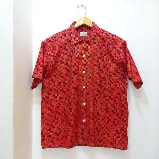 50/60's VAN HEUSEN Cotton Open Collar Shirts size L