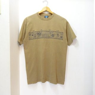 90's KAVU Cotton Printed T-Shirts size M