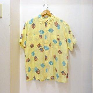 50/60's WEAREVER Cotton Hawaiian Shirts size L