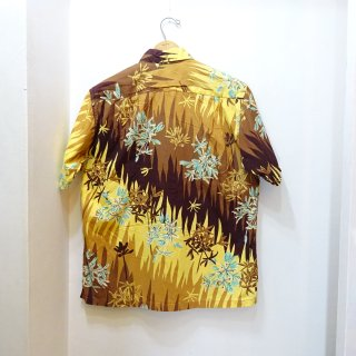 50/60's Paradise Hawaii Cotton Hawaiian Shirts size about L