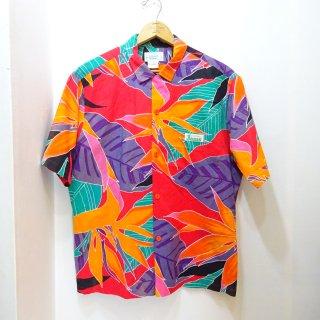 80's Jams by Surf Line トロピカルリーフ柄 ハワイアンシャツ size L