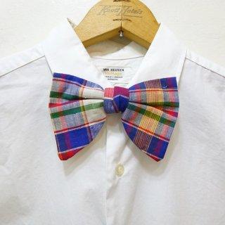 Dead Stock Vintage Madras Bow Tie