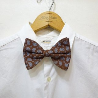 Dead Stock Vintage Paisley Pattern Bow Tie