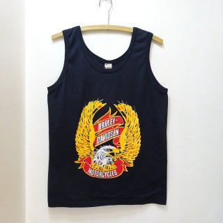 "Dead Stock 80's Harley Davidson ""Eagle"" Tank Top size M"