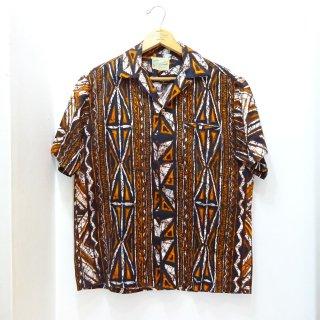 Early 60's Diamond Head Cotton Hawaiian Shirts size about M
