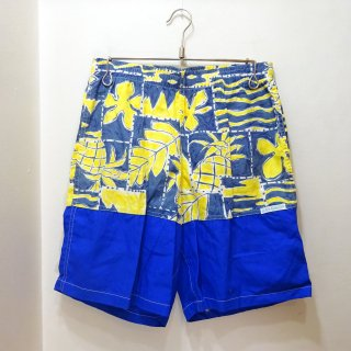 Dead Stock 80's OCEAN BREEZE Cotton Swim Shorts  size W32