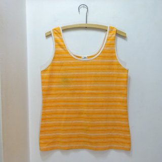 70's the seventh ボーダー柄 タンクトップ size L