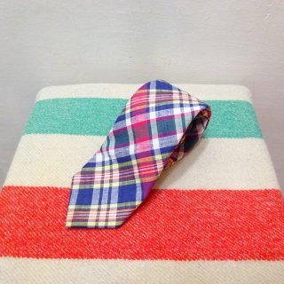 Vintage Kenneth Gordon Indian Madras Tie