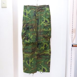 60's U.S.ARMY Jungle Fatigue Field Pants Green Leaf