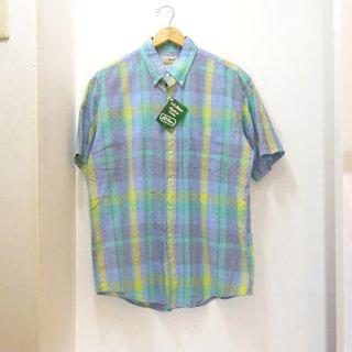 Dead Stock 90's L.L.Bean インディアンマドラス BDシャツ size L
