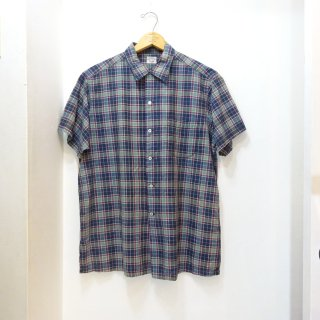 60's Brooks Brothers Indian Madras Open Collar Shirts size L