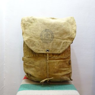 50's BOY SCOUT OF AMERICA Canvas Backpack