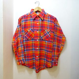 70's King Kole Heavy Flannel Work Shirts size M