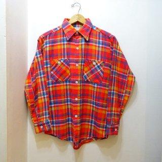 70's King Kole Heavy Flannel Work Shirts size M