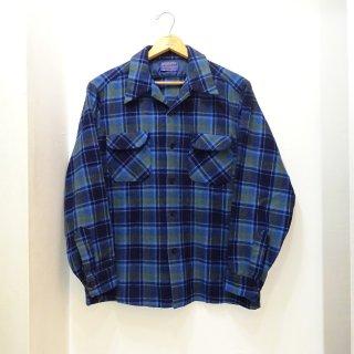 70's Pendleton Wool Open Collar Shirts size L