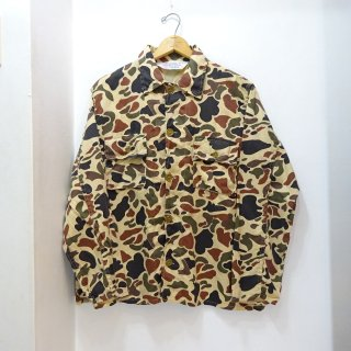 70's Seaway Duckhunter Camo Cotton Jacket size L