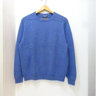 90's LANDS' END Cotton Knit Sweater size L