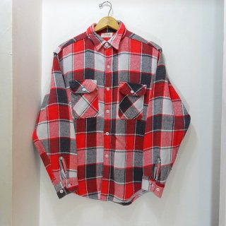 60's Powr House Heavy Flannel Work Shirts size 15