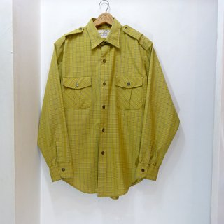 70's Eddie Bauer Cotton Safari Shirts size 16 - 33