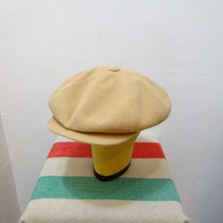 Dead Stock 60/70's Wool Newsboy Cap size 7 1/4(表記)