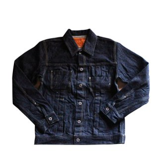 【graphzero】GZ-16GJ-2809 16oz JEAN JACKET 右綾 ワンウォッシュ