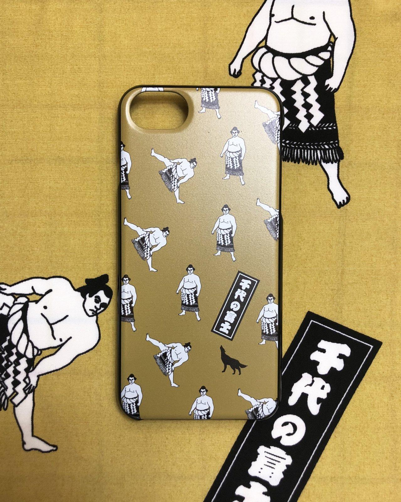 """""""Chiyonofuji TOKIDOKI wolf"""" iPhone8/7/6専用 ポリカーボネート製ケース"""