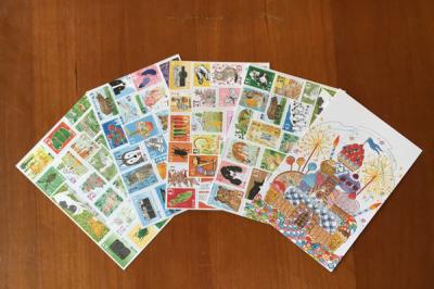 ポストカード5枚セット(イラストレーターシミキョウ)