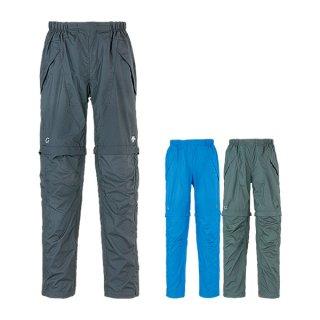DESCENTE デサント CONVERTIBLE WIND SHELL PANTS メンズ ロングパンツ(取り外してハーフパンツ可)