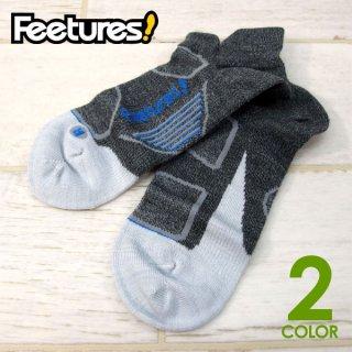 Feetures! フィーチャーズ Elite Merno UltraLtNo Show Tab ソックス メリノ