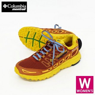 <img class='new_mark_img1' src='https://img.shop-pro.jp/img/new/icons24.gif' style='border:none;display:inline;margin:0px;padding:0px;width:auto;' />Columbia・Montrail Bajada III Madarao Yellow Trail Edition レディース トレイルランニング シューズ