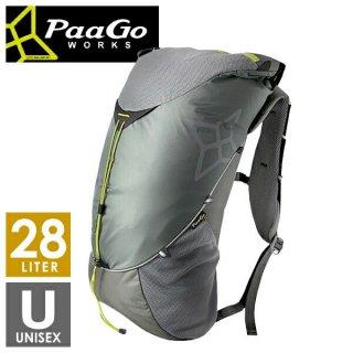 PaaGo WORKS パーゴワークス RUSH28 ラッシュ28 メンズ・レディース ザック・バックパック(28L)