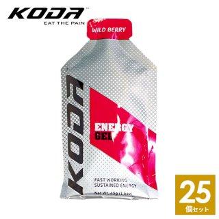 KODA(コーダ) 旧shotz(ショッツ) エナジージェル ワイルドベリー味×25個セット