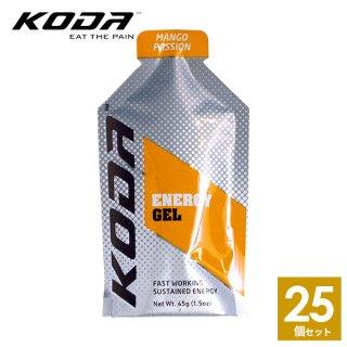 KODA(コーダ) 旧shotz(ショッツ) エナジージェル マンゴーパッション味×25個セット