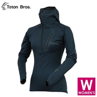 Teton Bros ティートンブロス WS Power Wool MW Hoody  レディース ポラーテックパワーウール ロングシャツ
