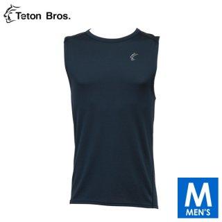 Teton Bros ティートンブロス Power Wool MW Non Sleeve メンズ ノースリーブシャツ