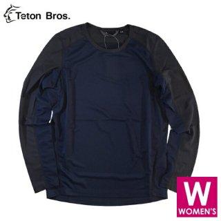 Teton Bros ティートンブロス WS PPP L/S レディース ベースレイヤー 長袖シャツ