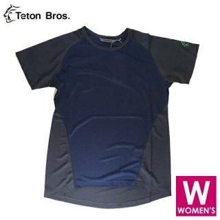 Teton Bros ティートンブロス WS PPP S/S レディース ベースレイヤー 半袖シャツ
