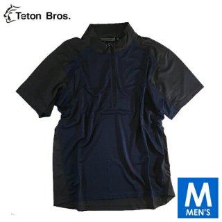 Teton Bros ティートンブロス PPP Half Zip S/S メンズ ハーフジップ半袖シャツ