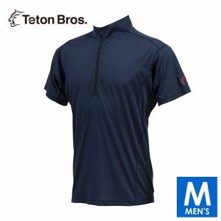 Teton Bros ティートンブロス PPP Half Zip S/S メンズ ハーフジップ ドライ半袖シャツ
